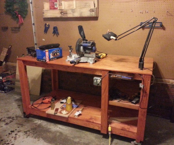 Custom Wood Workbench