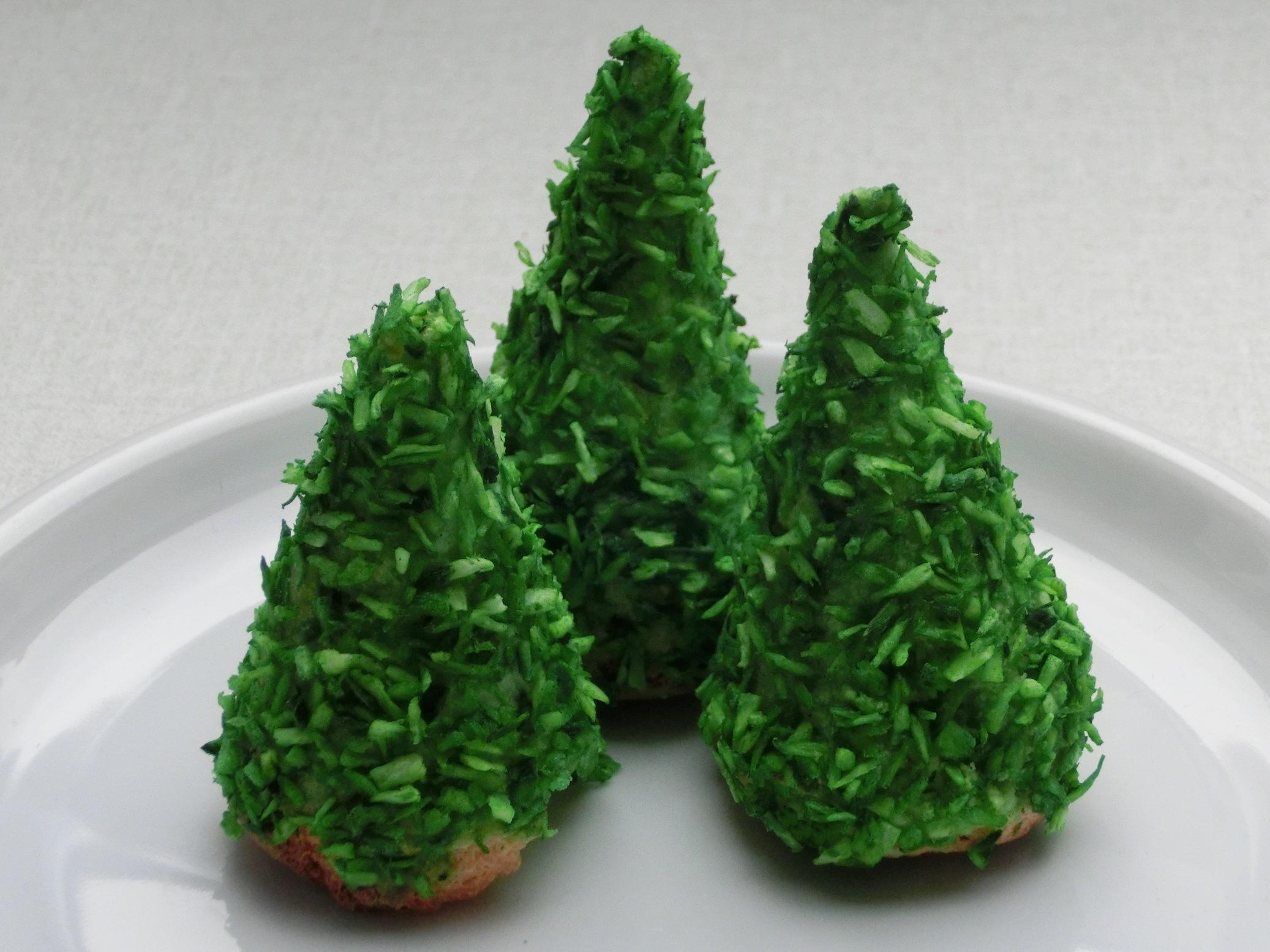 Easy 3D Christmas Tree Cookies