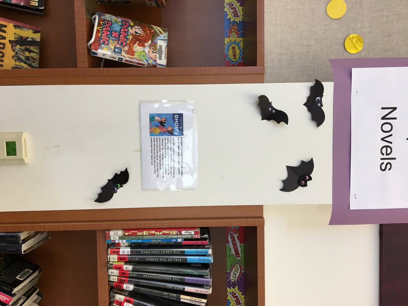 Hang Up Your Bats Around the Room!