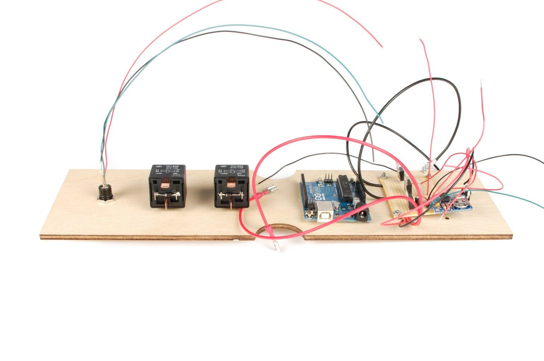 Assemble the Electronics Panel