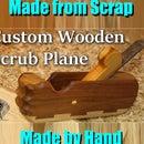 Wooden Scrub Plane from Scrap