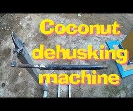 Make Coconut Husking Machine