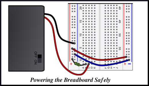 Powering Breadboard Safely