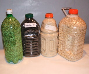 Storing Bulk Dry Foods in PETE Bottles Using Oxygen Absorbers
