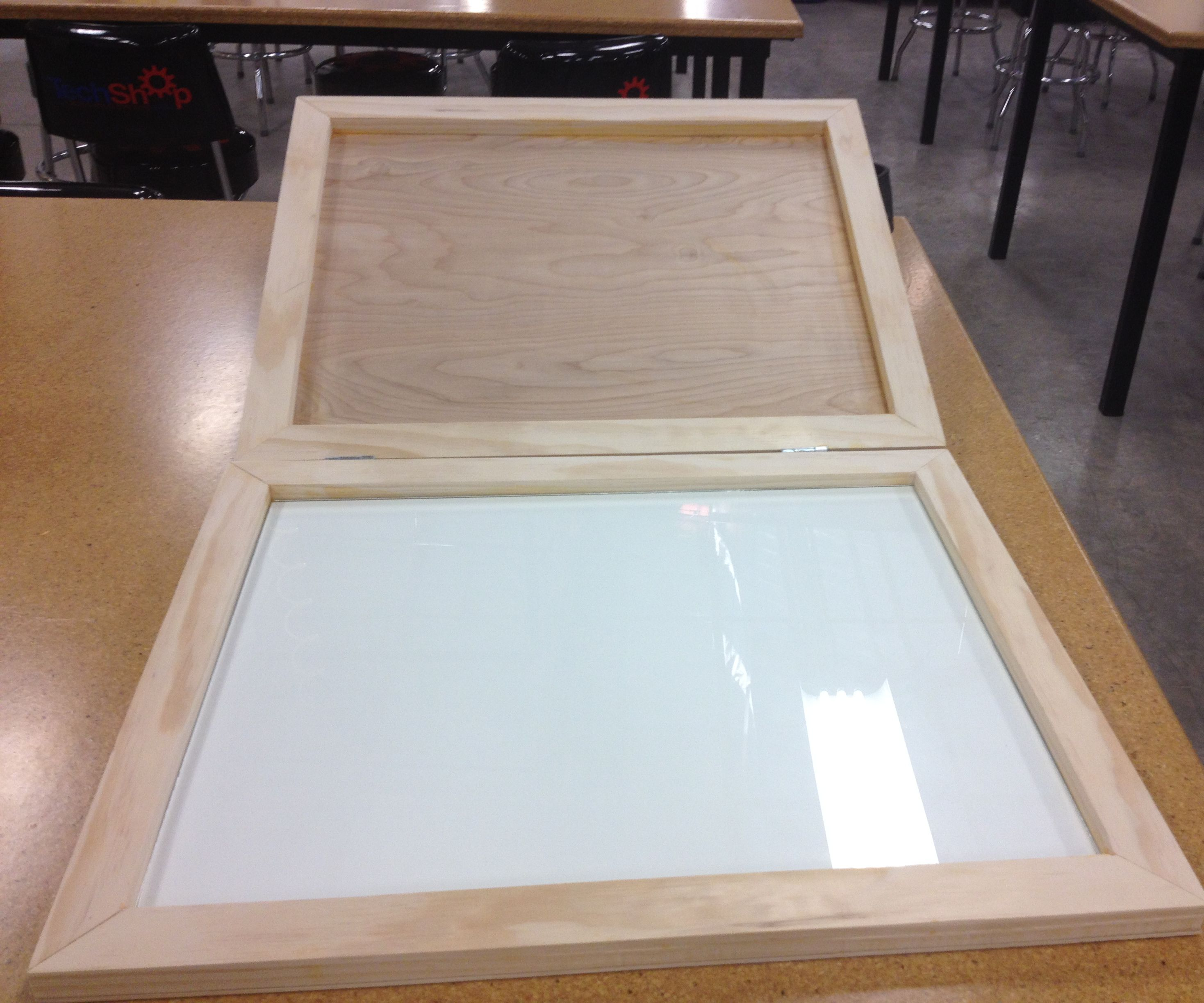 Portable Painting Palette I made at TechShop Chandler
