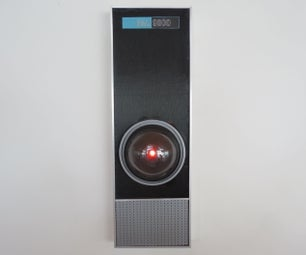 Screen-accurate HAL 9000 Replica