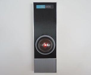屏幕准确的HAL 9000副本