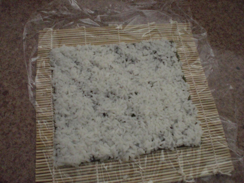 Spread the Rice on the Nori