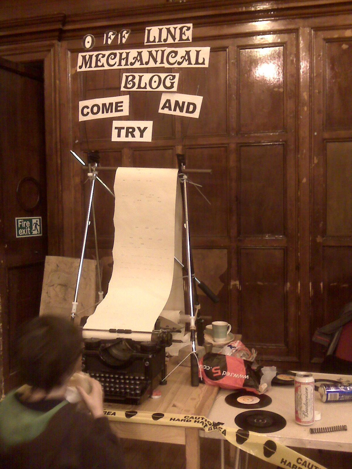 Offline Mechanical Steampunkers' Blog