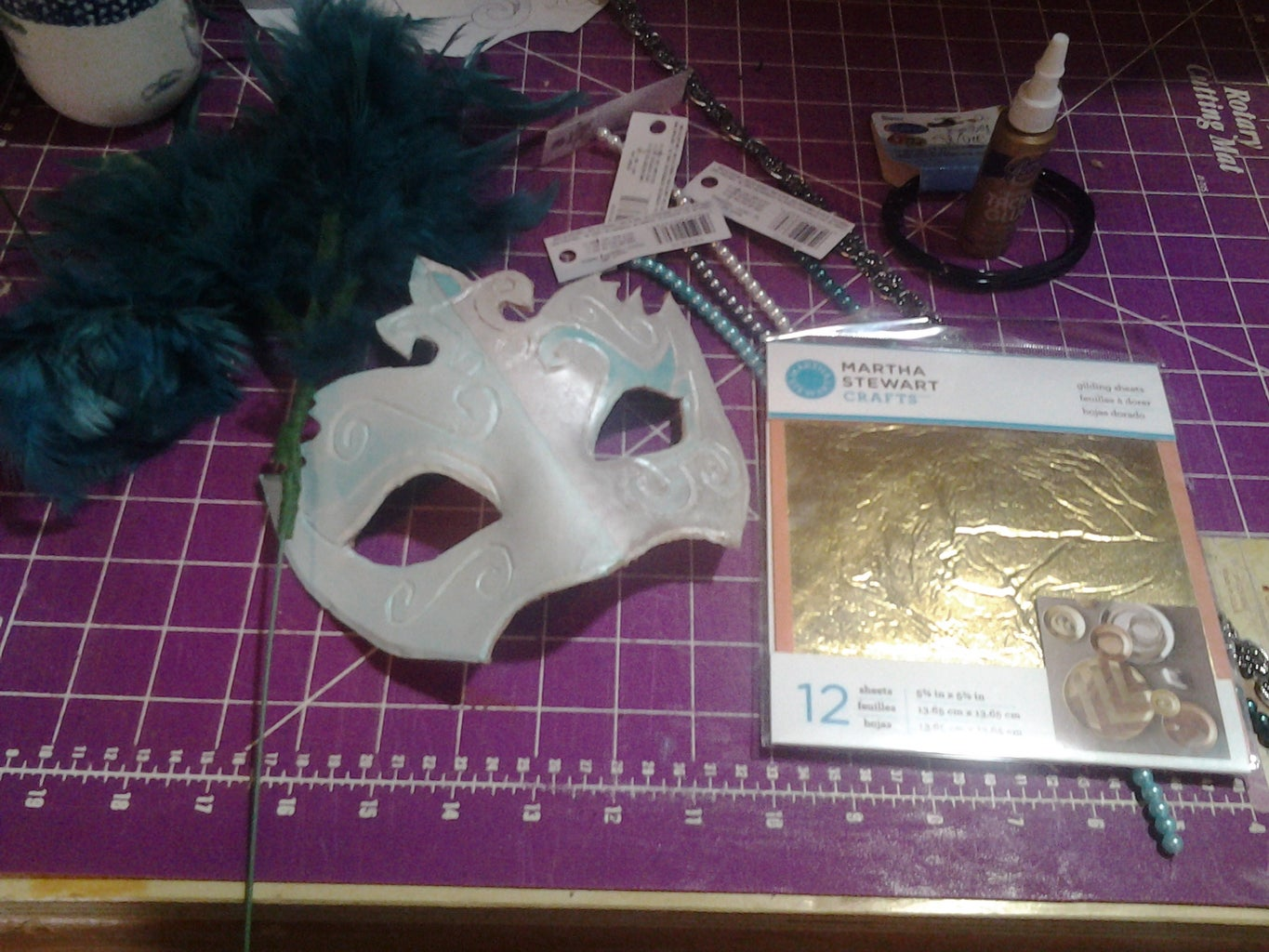 Gathering Your Embellishments to Decorate