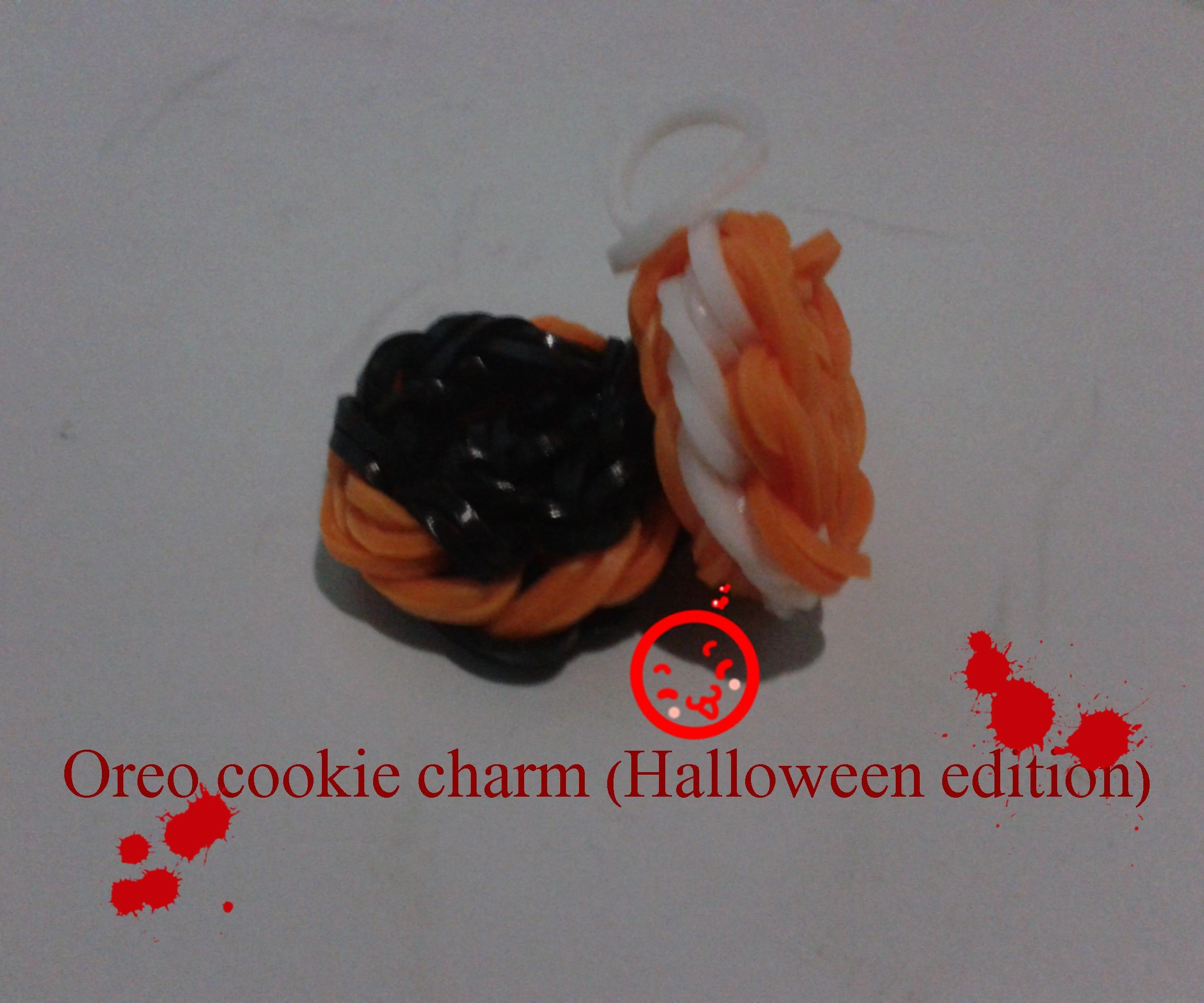 Oreo cookie charm(Halloween Edition)