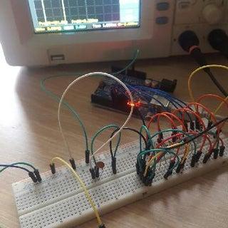 10 Resistor Arduino Waveform Generator