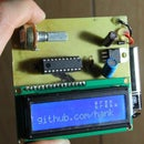AVR LCD Namebadge