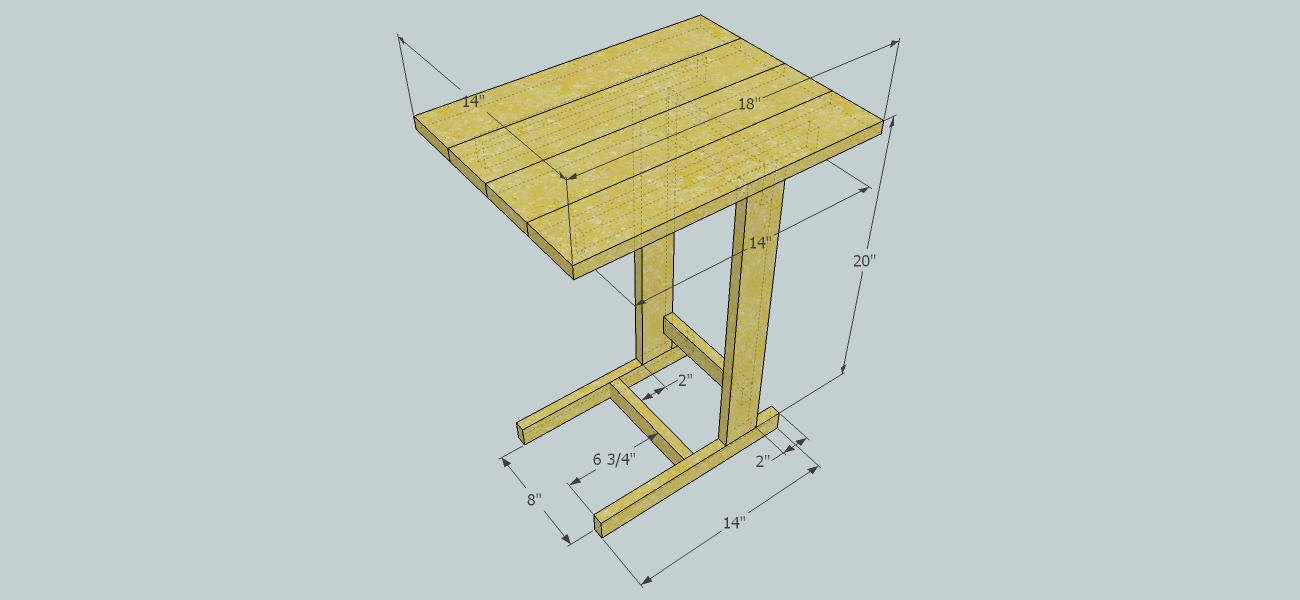 Couch Table build with a Kreg K5 Jig using 3 standard oak boards