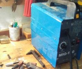 Recycling a Broken Welder Into a Better One - Part 1
