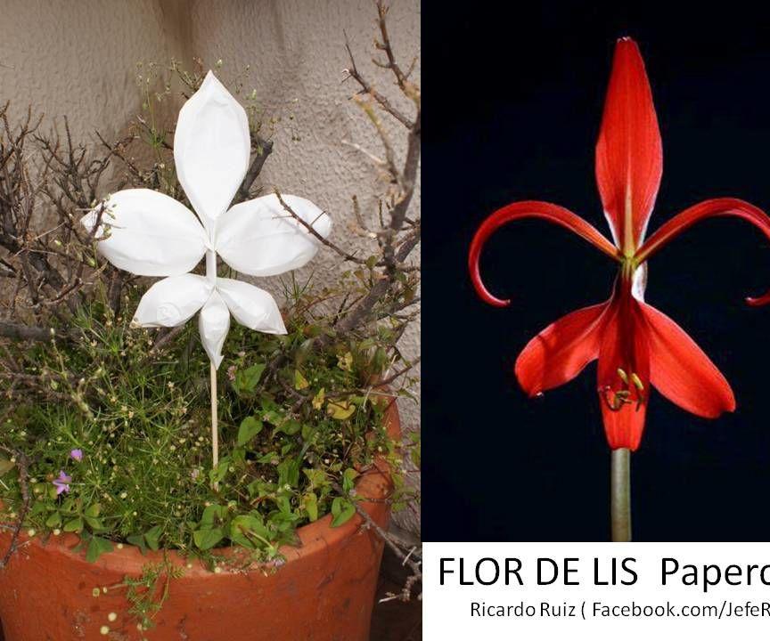 Flor de Lis - Papercraft