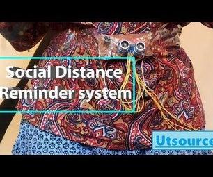 Social Distancing Reminder System