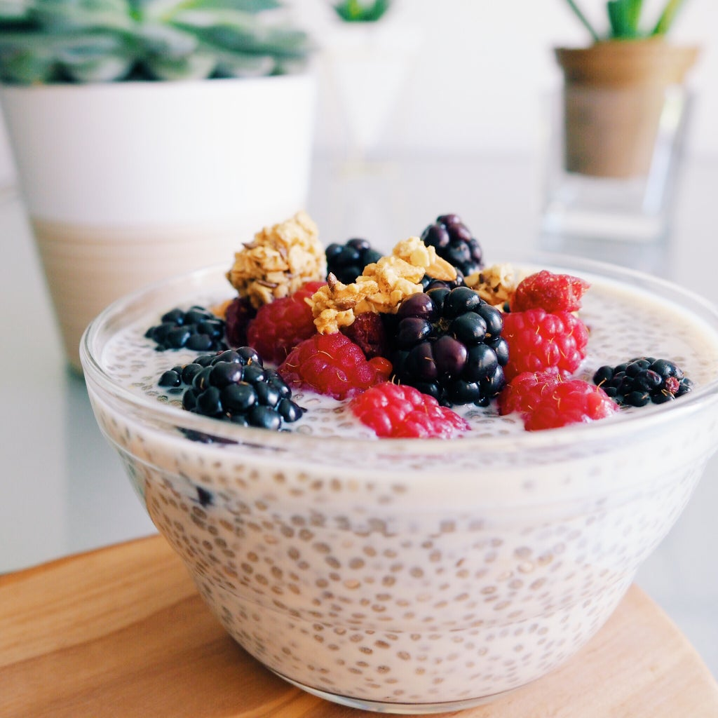 RECIPE | BERRY CHIA SEED PUDDING