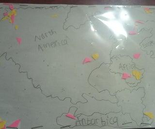 Fun Colour Full World Map