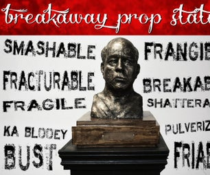 Make a Breakaway Prop Statue for Film or Theatre