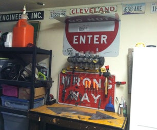 Up Cycled Work Bench