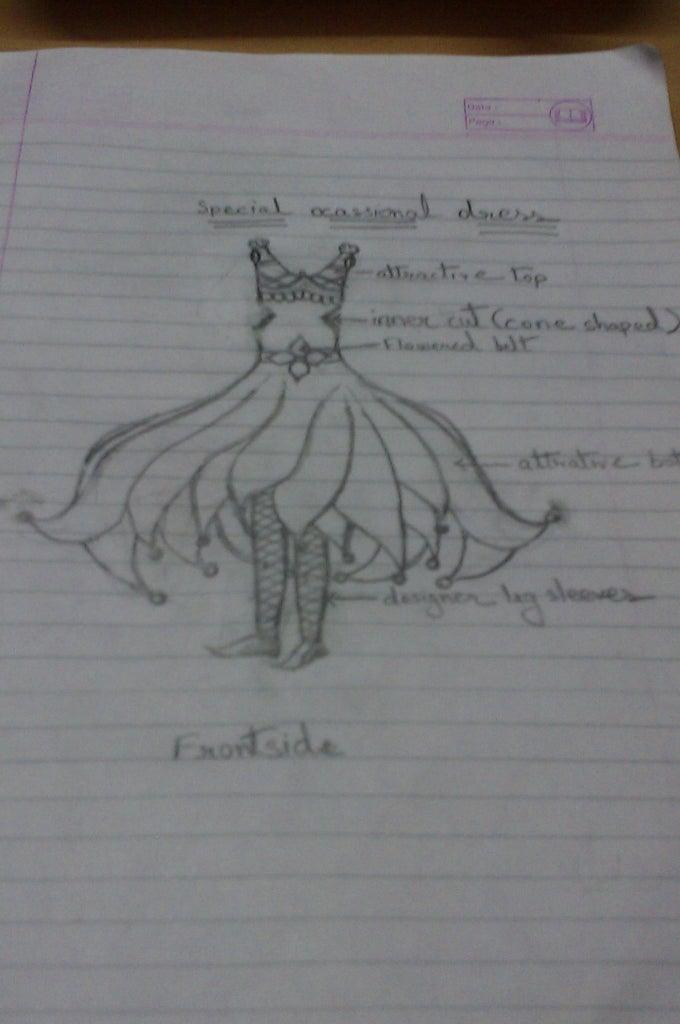 Specially Designed Occasional Dress Design