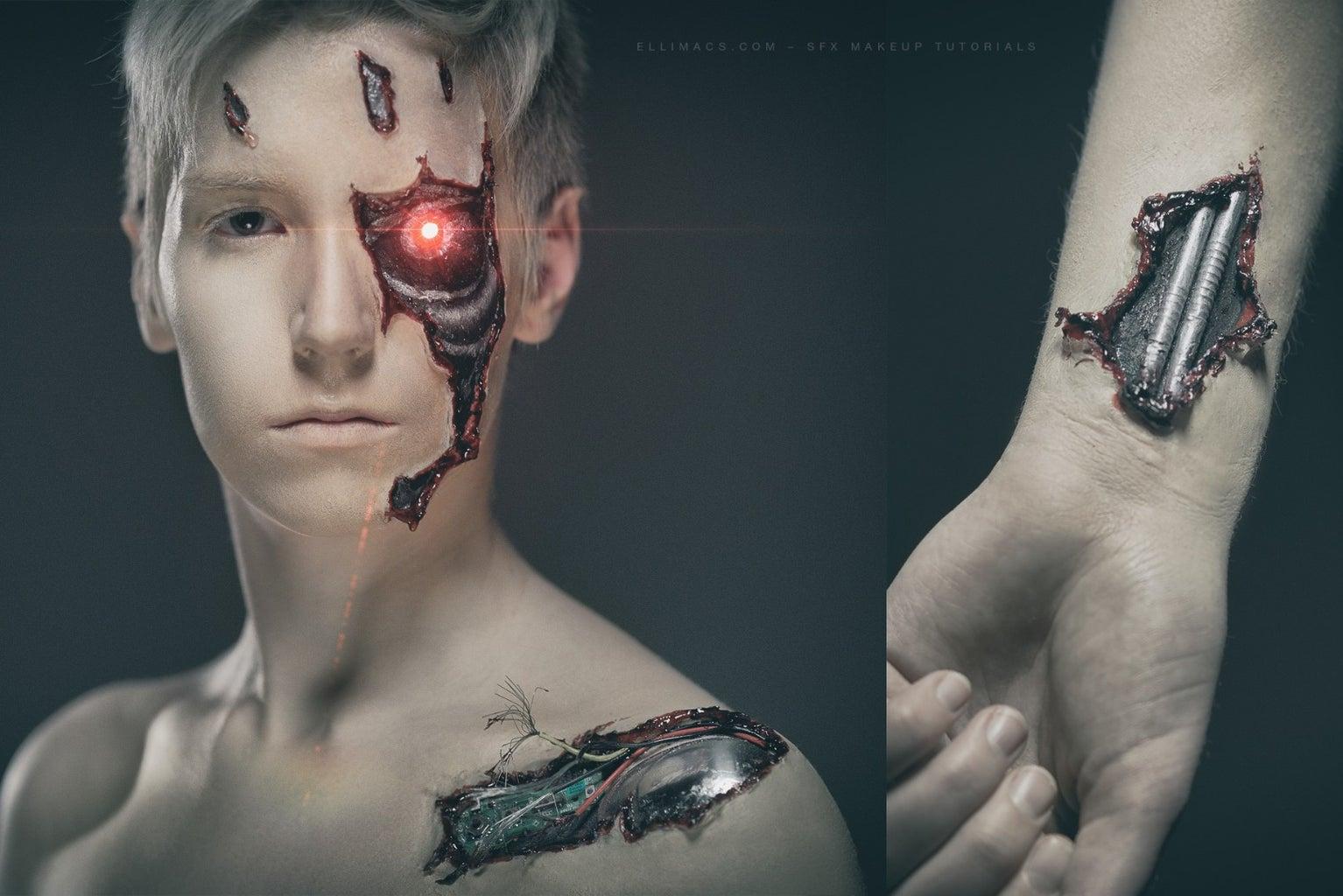 The Terminator - SFX Makeup Tutorial