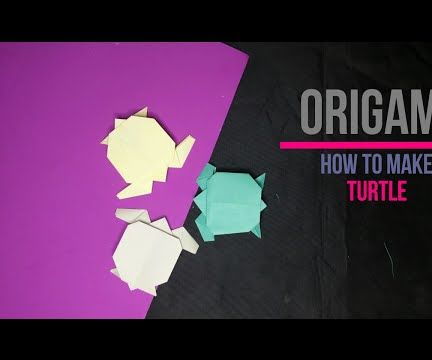 How to Make an Origami Turtle [DIY] by Brain Washer