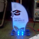 LED Acrylic Trophy / Placard