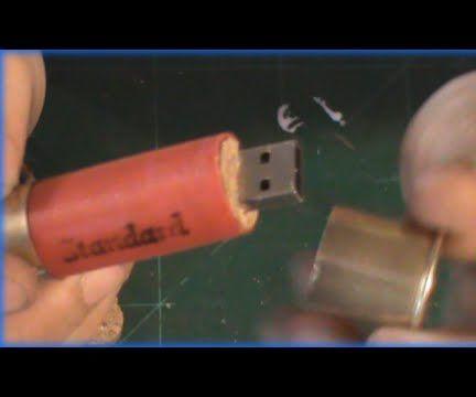 Shotgun Shell Flash Drive HOW TO