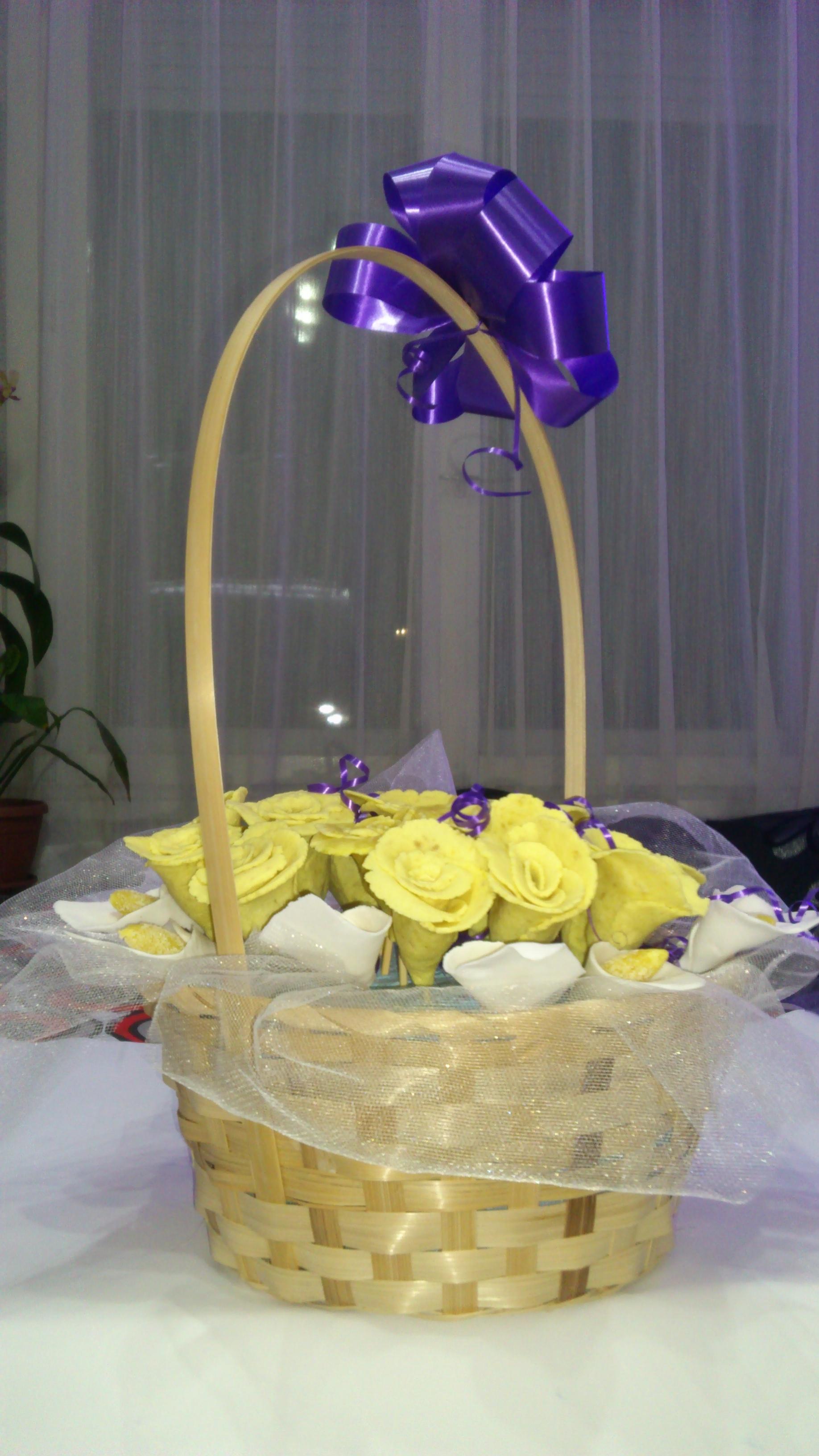 Sweet fondant bouquet