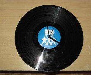 The BRO Clock - Vinyl Record Clock