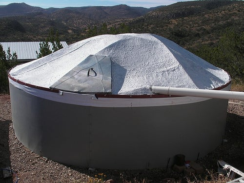 How to Build a 6000 Gallon Water Tank