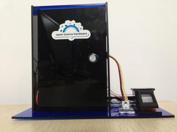 Door to Open Source Hardware (A Fingerprint Lock Solution)