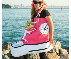 Pink Converse High Top Costume