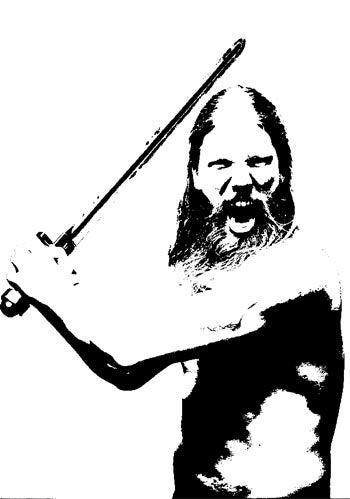 Viking Stencil in Photoshop