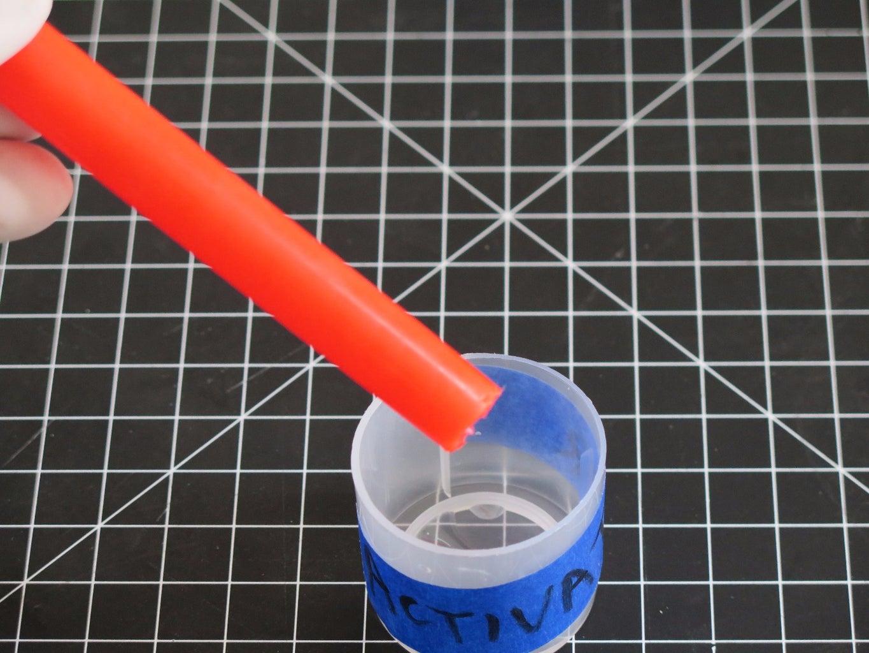 Cut Open and Drain First Liquid