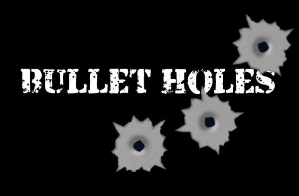 How to Paint Bullet Holes - Easy Paint Trick