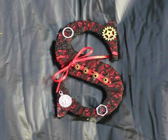 Corset Inspired Steampunk Letter