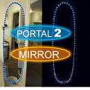 Free 'Portal 2' inspired mirror