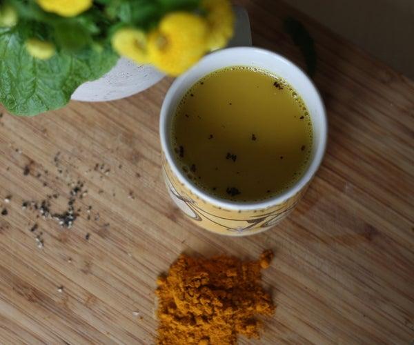 How to Make Delicious Turmeric Tea
