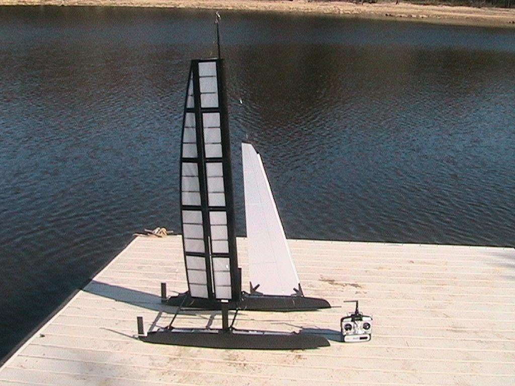 RC Wing Sail Catamaran