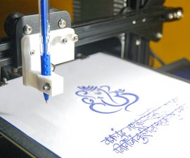 Draw With Your 3D Printer | Plotter
