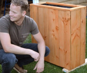 Douglas Outdoor Planter Box DIY