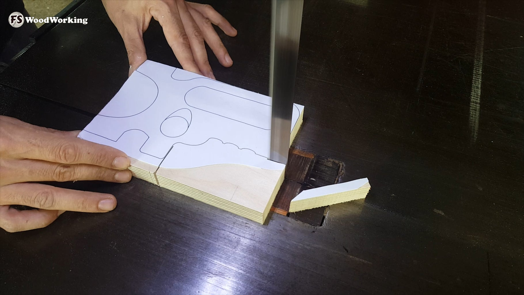 The Handle (Part a on the Plans)
