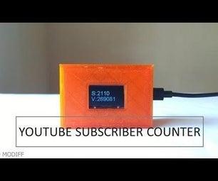 Diy Esp32 Youtube Subscriber Counter