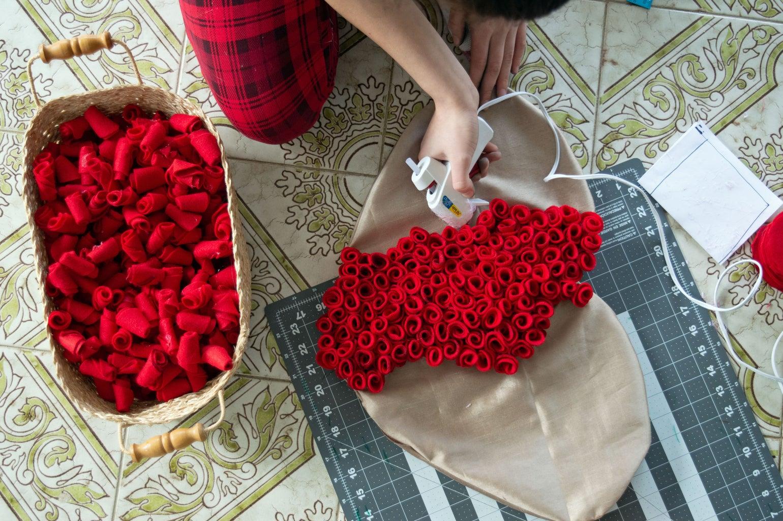 Continue Adding Roses