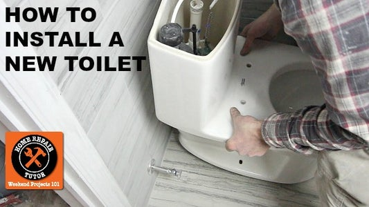 How to Install a New Toilet in 1 Hour or Less