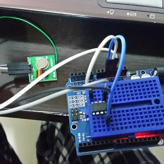 Attiny85 RF Transmitter to Arduino Uno Receiver (Manchester Library /w Arduino 1.0)
