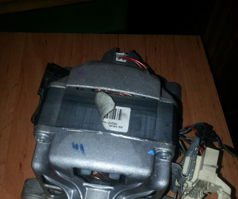 Wash Machine Motor Wiring